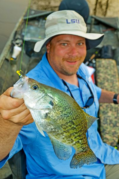 Springtime crappie fishing tips for lake d arbonne for Lake d arbonne fishing report